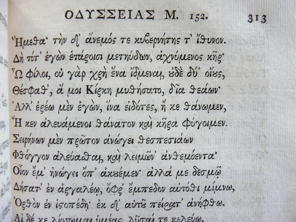 1800 Oxford Homer AnoTeleia