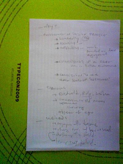 notes on GU's award