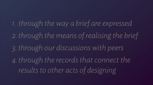 Warsaw Design Debate uploaded slide